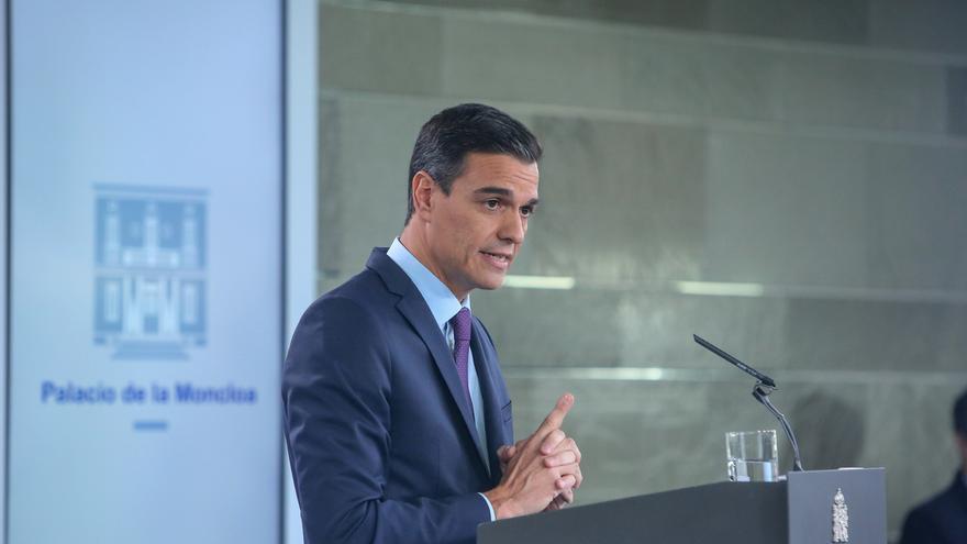 """Sánchez dice que España reconocerá a Guaidó en ocho días si Maduro no convoca """"elecciones libres"""""""