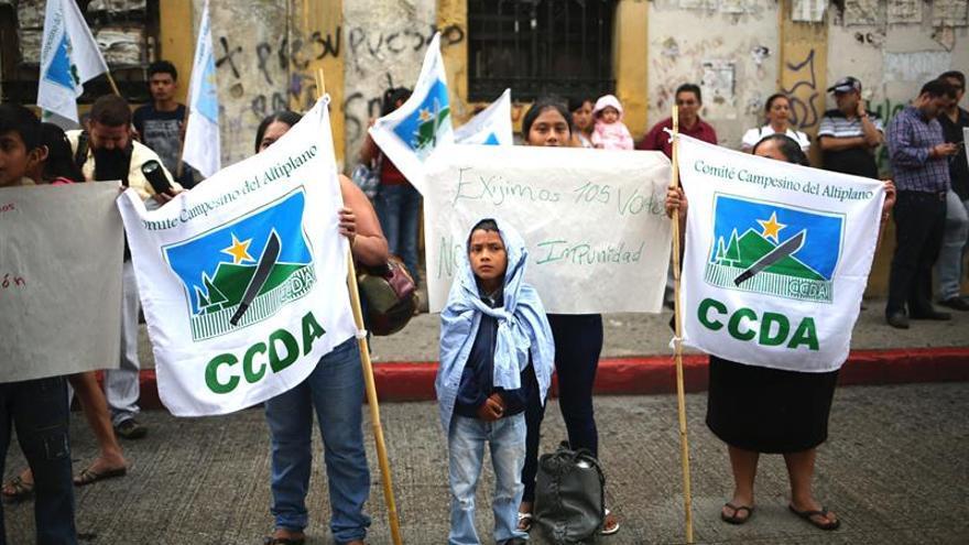 El presidente de Guatemala recibe el respaldo del Congreso, que rechaza antejuicio