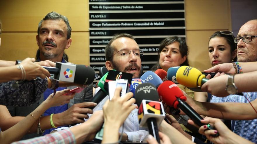 """Echenique resta importancia a las tensiones de Podemos en Galicia y dice que se limita a """"un debate político"""""""