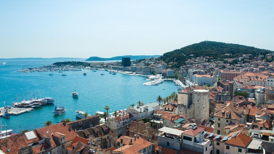 El casco histórico de Split está dentro del listado de la UNESCO como Patrimonio Mundial. Theo Crazzolara