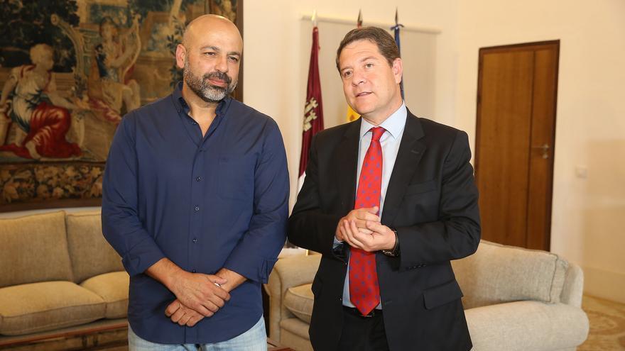 Reunión entre Emiliano García-Page y José García Molina