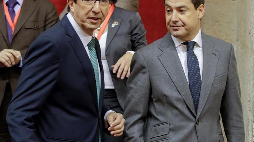 Marín: Ciudadanos ha firmado un acuerdo con el PP al que se ha sumado Vox
