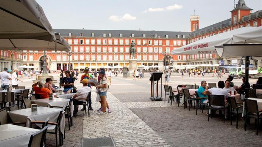 La Plaza Mayor de Madrid en una imagen de archivo