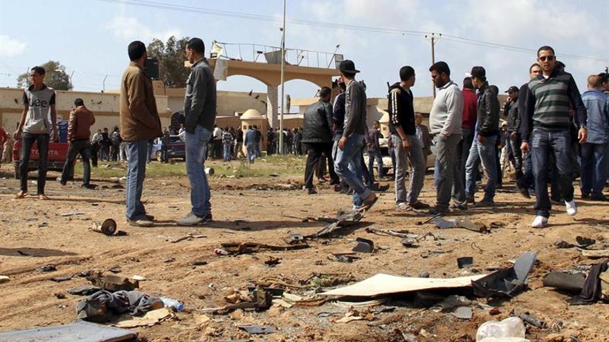 Siete muertos en intensos combates en la ciudad libia de Bengasi