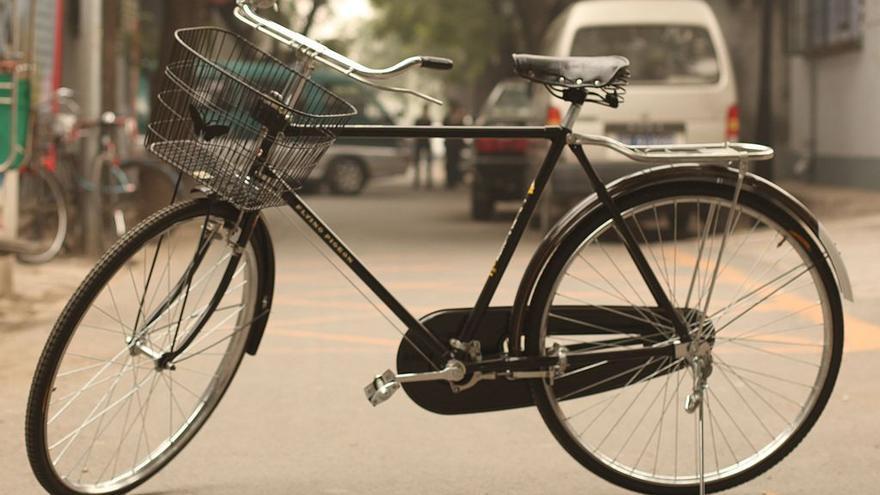 Una Flying Pigeon, aparentemente la bicicleta más popular del mundo (es china)