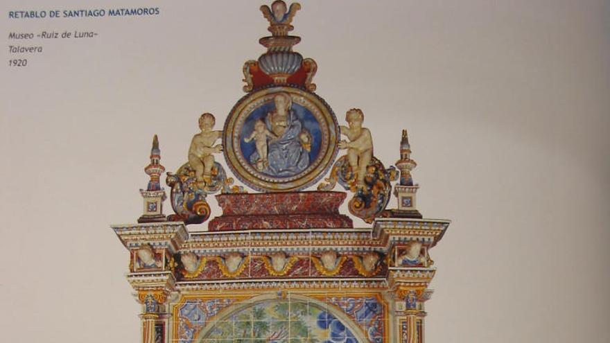 Retablo de Santiago FOTO: 'Museo de Cerámica Ruiz de Luna' JCCM