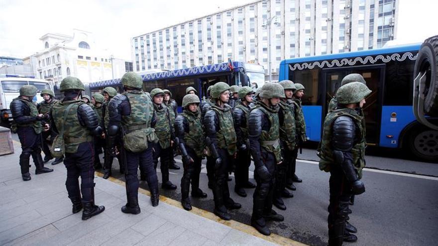 Una oleada de llamadas anónimas provoca numerosas evacuaciones en Rusia