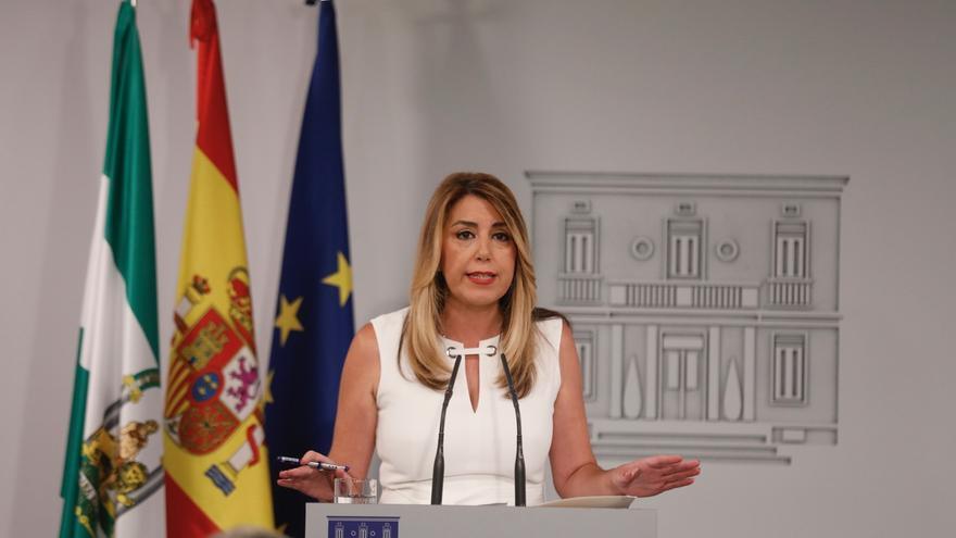 """Susana Díaz insiste en pedir reunión urgente para una """"responsabilidad compartida"""" de todas las CCAA ante la inmigración"""