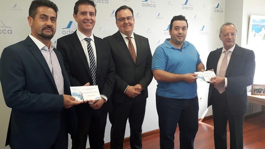 Recepción de las becas / Albacete Capital
