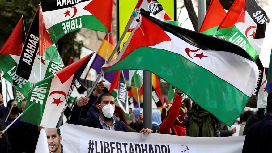 """Unas 150 personas piden en Madrid la libertad de """"presos políticos"""" saharauis"""