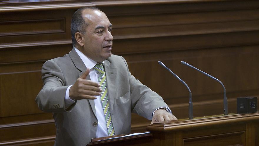 El diputado socialista, Julio Cruz