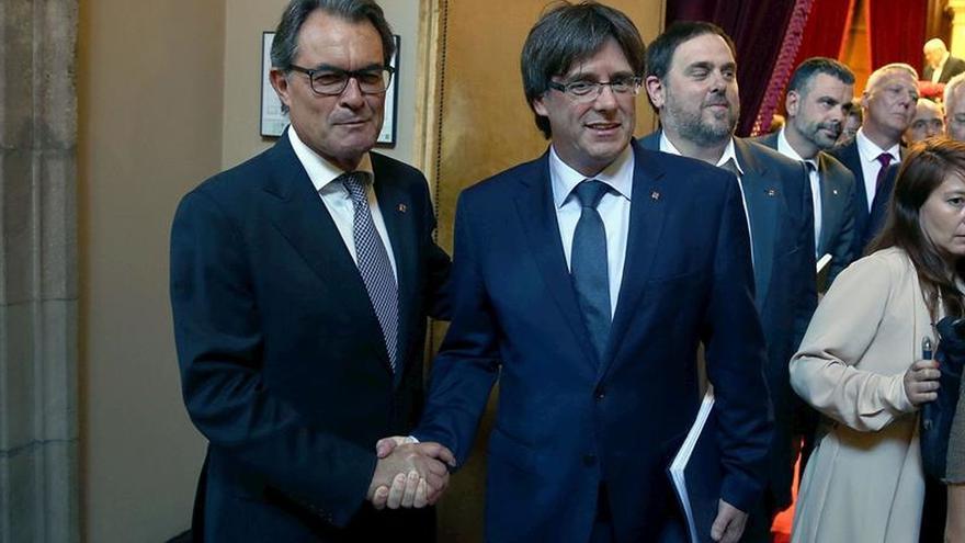 """Mas dice que siente """"pena"""" por el """"espectáculo dantesco"""" en el PSOE"""