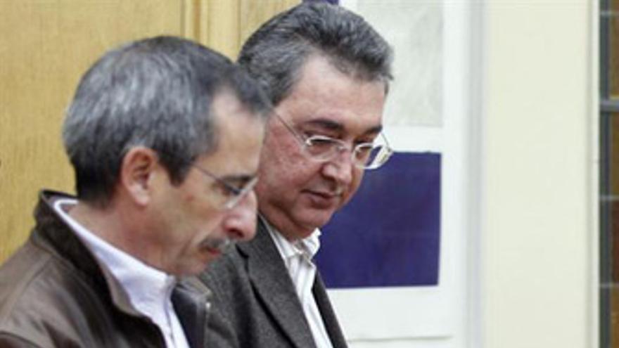 Secretarios de Acción Sindical de CC.OO. y UGT, Ramón Górriz y Toni Ferrer