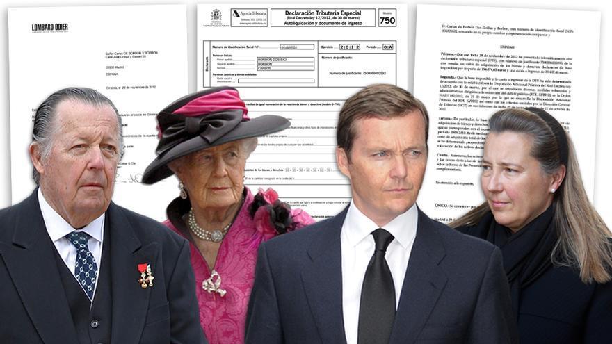 Los cuatro familiares del rey Juan Carlos que se acogieron a la amnistía fiscal