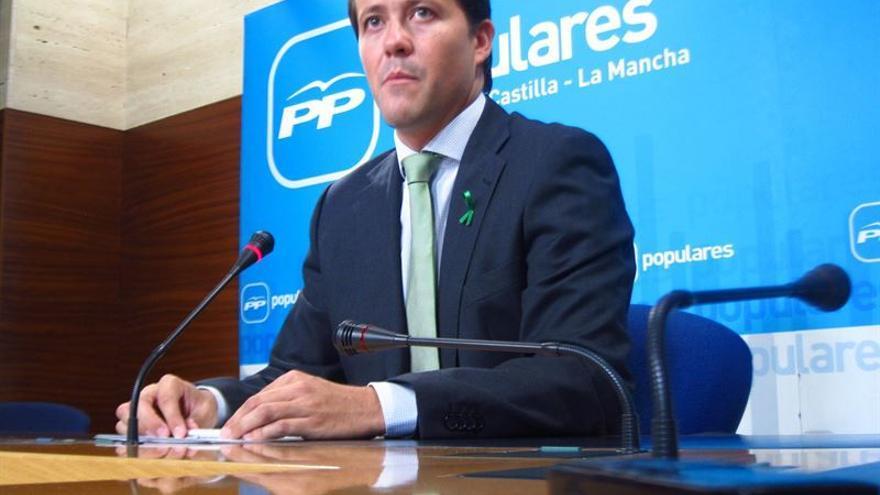 El diputado del PP Carlos Velázquez / Foto: EUROPA PRESS