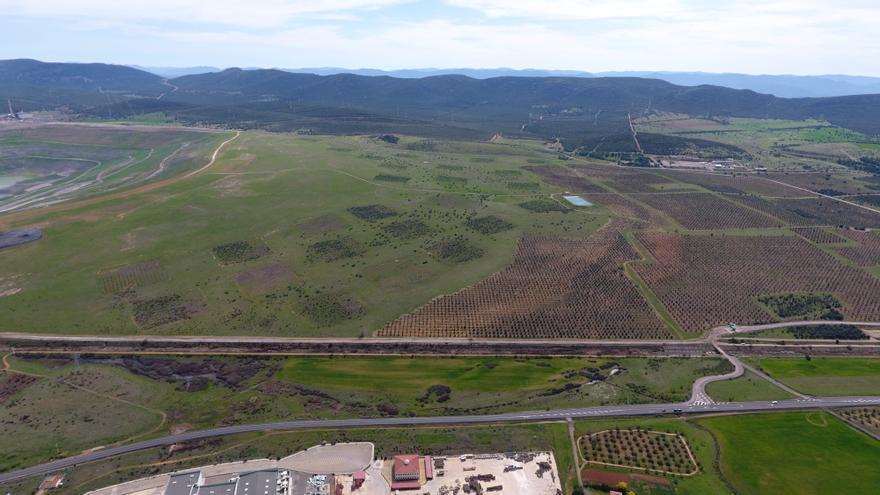 La mina de carbón 'Emma' de Puertollano en 2017