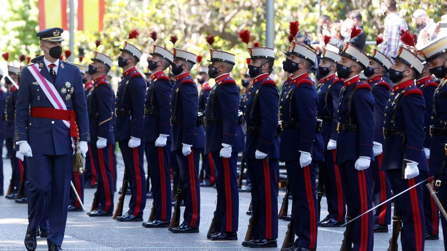 El Día de Fuerzas Armadas vuelve a Madrid con un sencillo acto por la covid