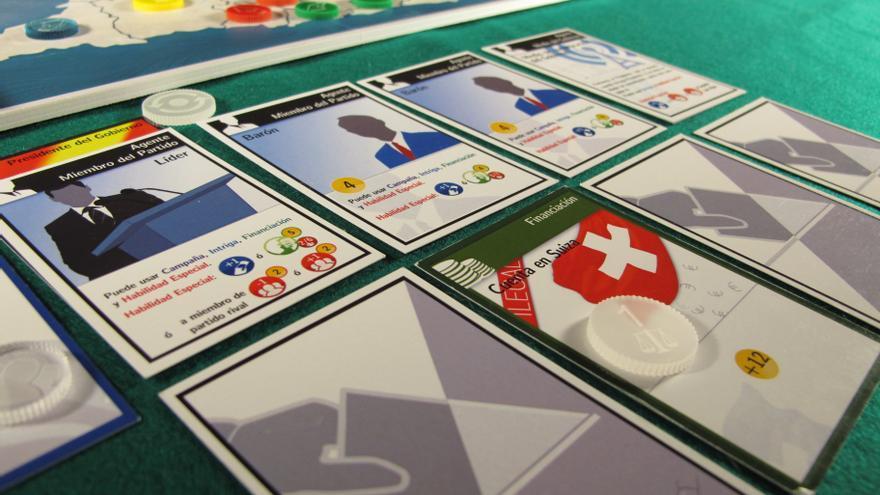 Una carta de financiación del juego D€mocracia: cuentas en Suiza