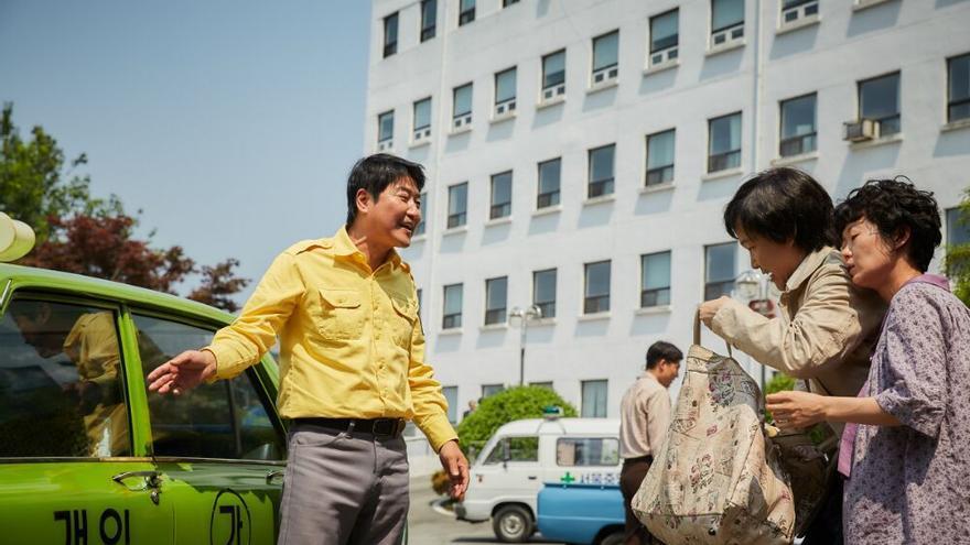 Escena de la película 'A Taxi Driver'