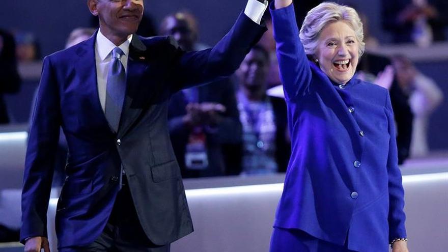 Clinton aceptará hoy ser la candidata demócrata a la Presidencia de EE.UU.