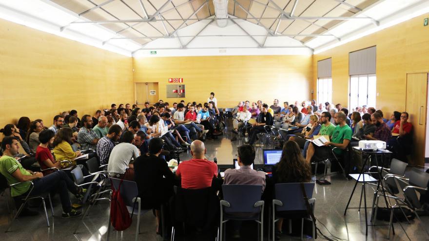 Asamblea de la Crida per Sabadell, celebrada en enero de este año