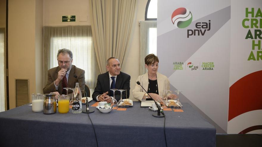 González (PNV) cree que debe gobernar Álava el partido que consiga más apoyos en las Juntas generales
