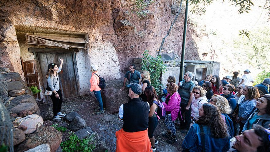 Ni momias, ni mirlados, la isotermia de las cuevas de Guayadeque es el origen de la conservación de sus muertos y sus alimentos