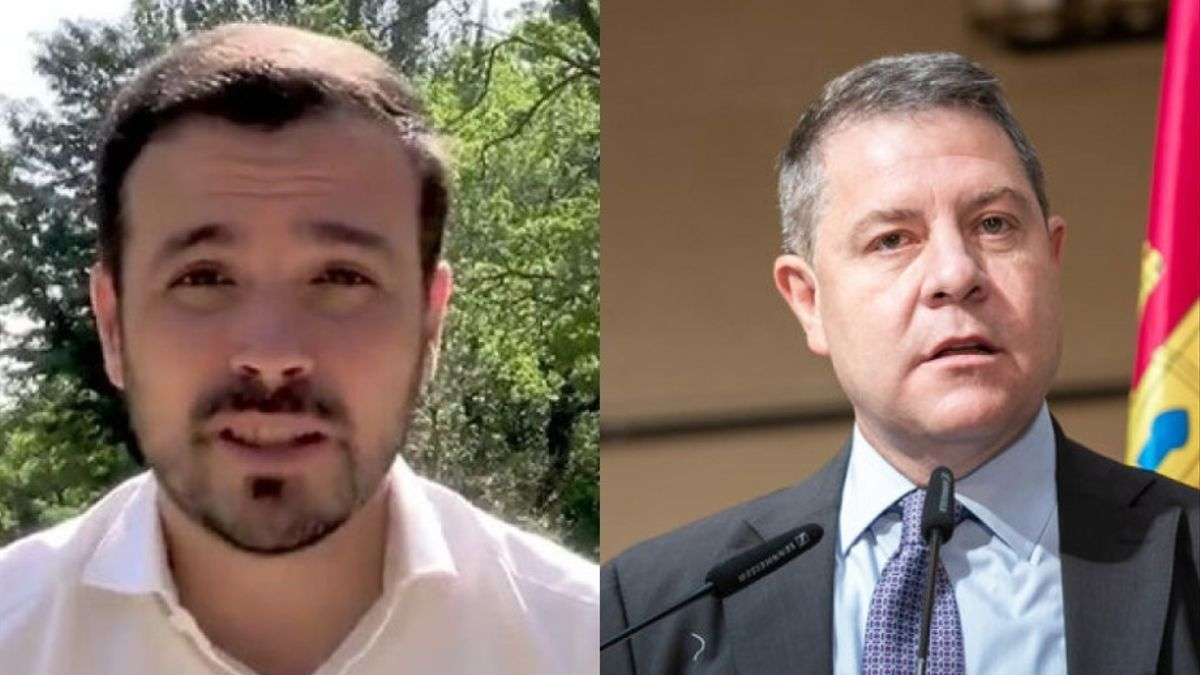 Alberto Garzón y Emiliano García-Page
