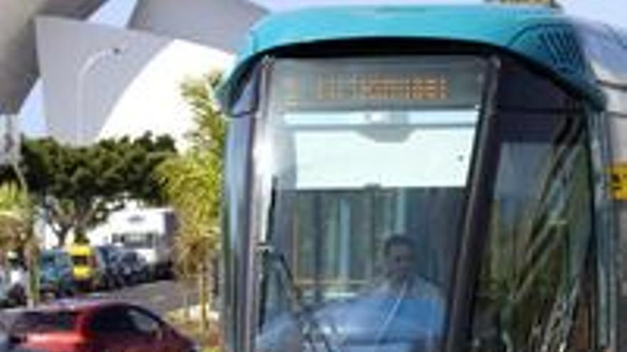 El tranvía.