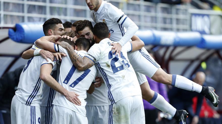El Real Madrid resolvió el partido en 45 minutos.