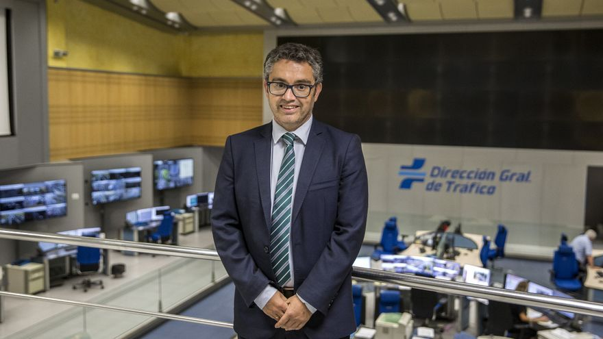 Jorge Ordás en la sede de la DGT