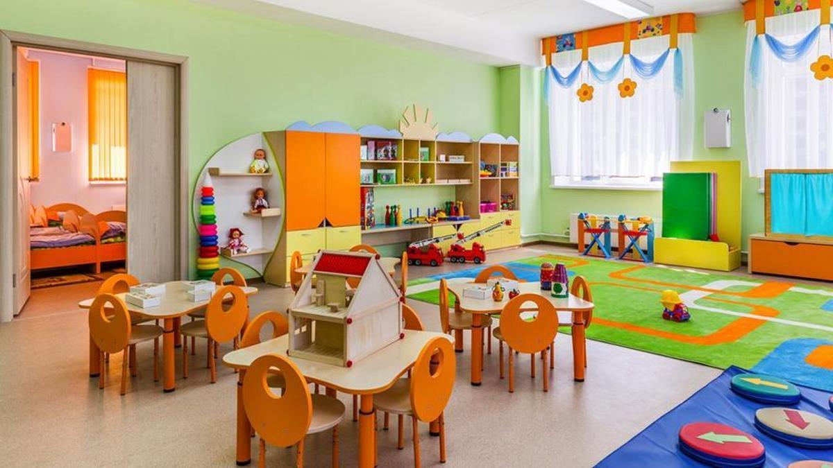 Escuela infantil, en una imagen de archivo