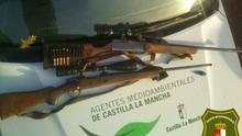 Tres cazadores furtivos sorprendidos en los Montes de Toledo