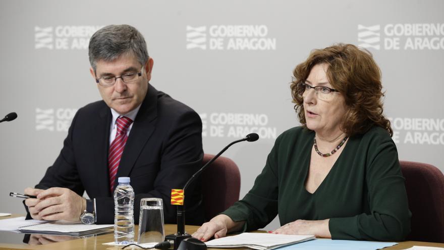 La consejera de Derechos Sociales, María Victoria Broto.
