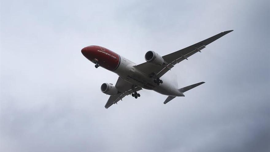 La aerolínea Norwegian perdió 31 millones de euros netos el año pasado
