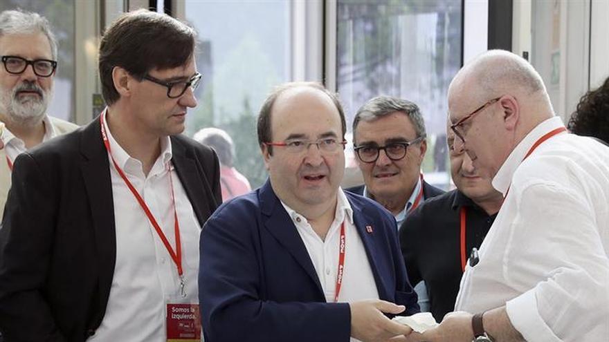 Iceta pide que PSOE dé mensaje claro a Cataluña y reconozca la plurinacionalidad