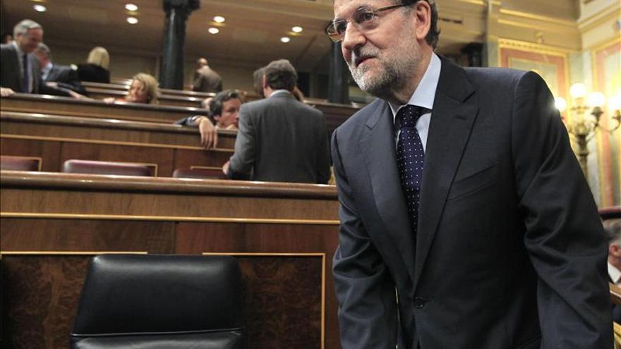 Rajoy reprocha a Amaiur que no condene a ETA ni pida perdón a las víctimas