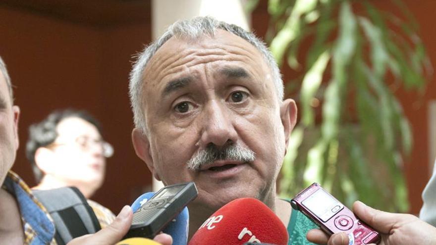 """Álvarez considera """"increíble"""" el juicio a los piquetes de la huelga general en 2012"""