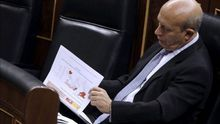 El ministro de Educación, José Ignacio Wert. / Efe