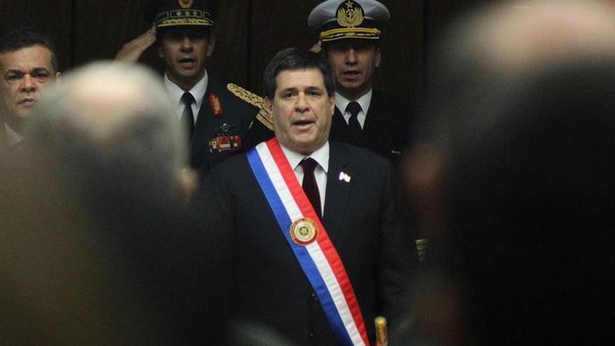 Cartes preside el 84 aniversario de la victoria paraguaya en la guerra contra Bolivia