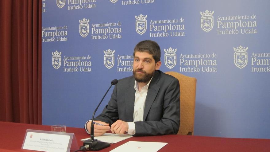 Pamplona aumentará un 30% las patrullas policiales nocturnas los fines de semana para prevenir agresiones sexuales
