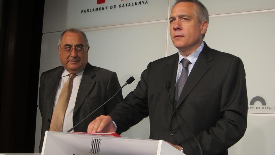 """Exdirigentes del PSC apoyan a los tres díscolos y piden una """"alternativa de izquierdas"""""""