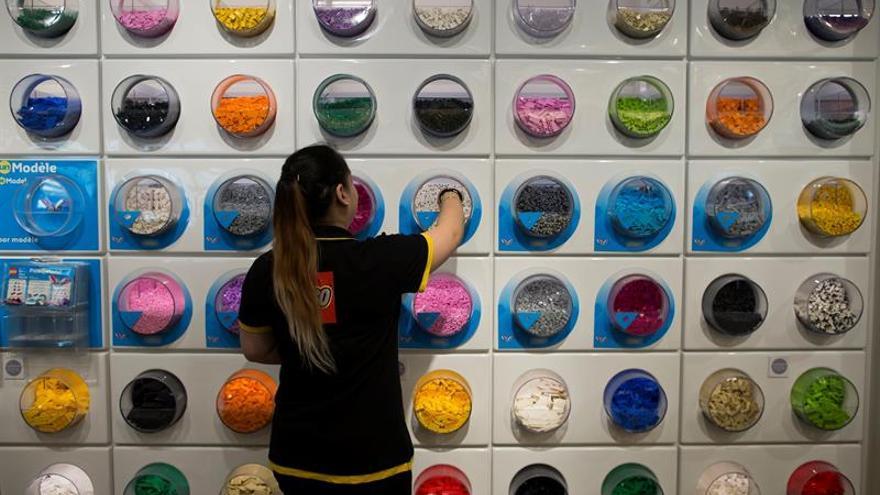 Lego abre mañana en Madrid su primera tienda física propia en España