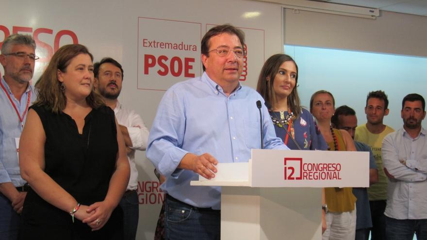Fernández Vara, proclamado definitivamente secretario general del PSOE de Extremadura