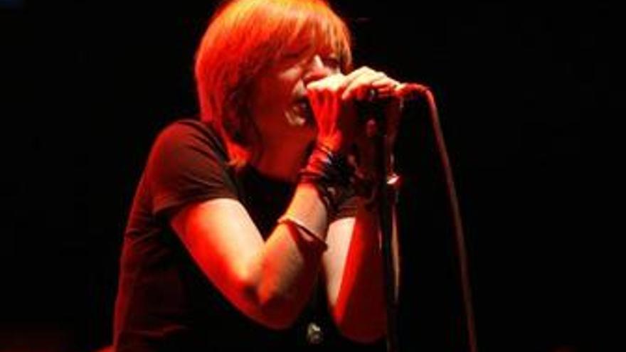 Beth Gibbons, cantante de la banda británica Portishead