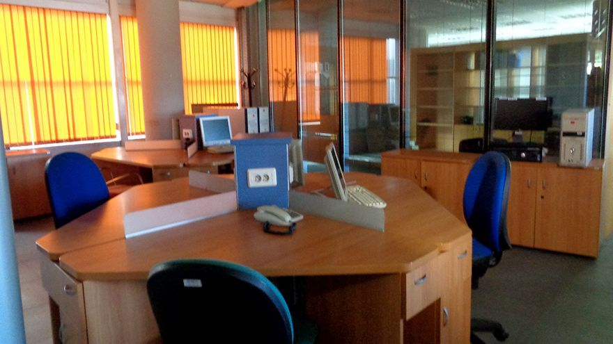 Las instalaciones del RTVV en Burjassot, desde donde emitía Canal 9