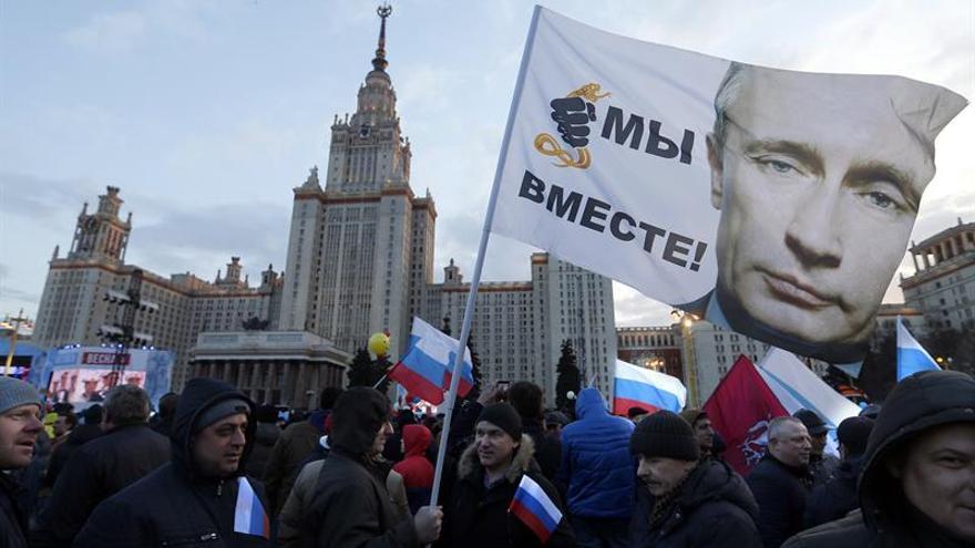 Rusia levantará una valla entre Crimea y Ucrania