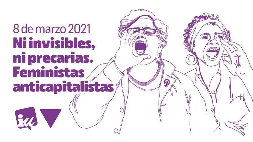 IUC apoya y participa en las actividades organizadas en La Palma por la Plataforma Feminista Palmera