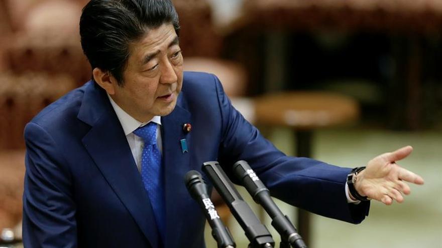 Abe elogia el compromiso de Trump por la paz y la seguridad mundial