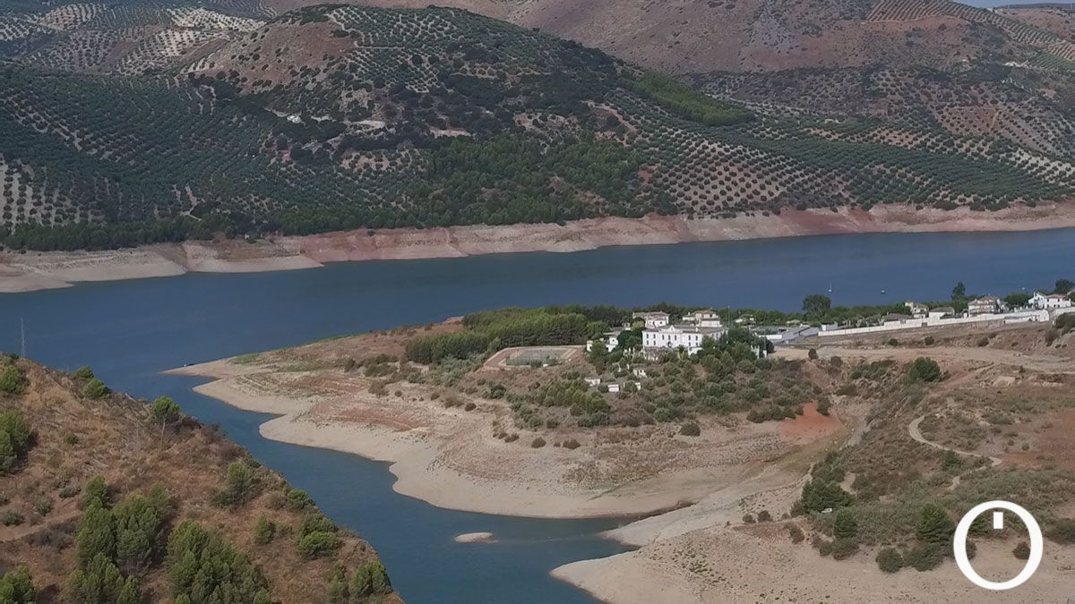 Pantano de Iznájar